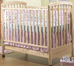 Click For Larger Image of Recalled Nadia Model Number 245 Crib