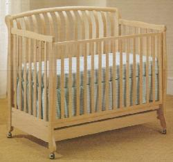 Click For Larger Image of Recalled Natasha Model Number 900  Crib