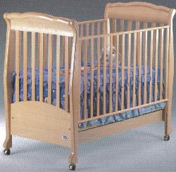 Click For Larger Image of Recalled Noelle Model Number 999 Crib