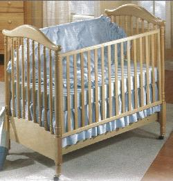 Click For Larger Image of Recalled Pagodina Model Number 195 Crib