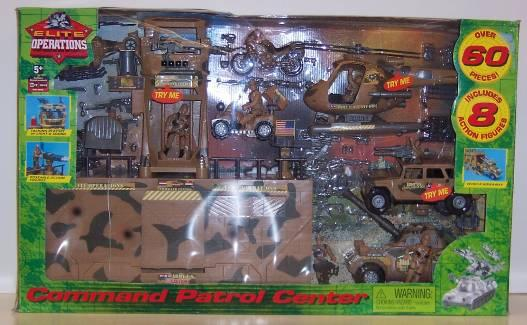 Picture of Command Patrol Center Recalled Toy Set