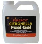 Picture of recalled Firepot Citronella Pourable Gel Fuel
