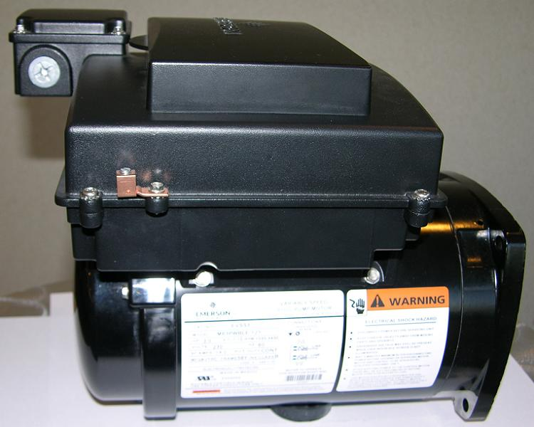 Picture of recalled pool pump motor