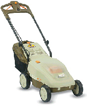 Picture of Recalled Cordless Electric Lawnmower