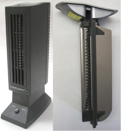 Picture of Recalled IonizAir(tm) Table Top Air Purifiers
