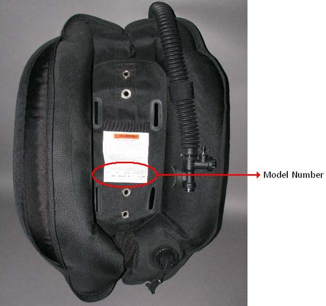 Picture of Recalled air cell