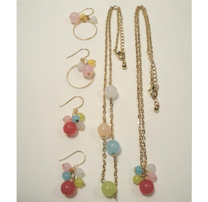 Picture of Recalled Children's earrings and necklaces