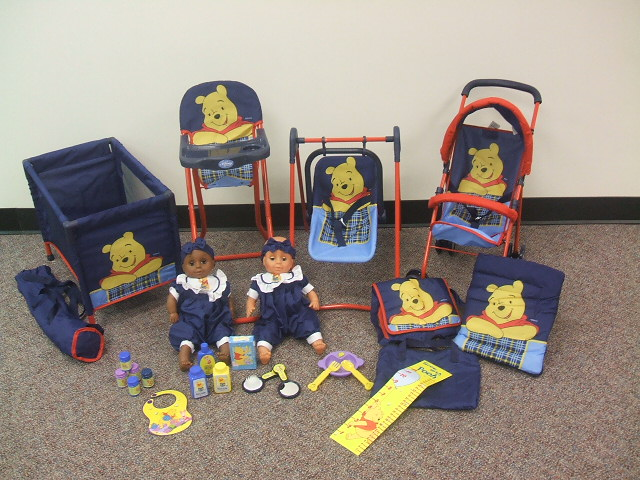 Picture of Recalled Disney™ Deluxe Winnie-the-Pooh 23-Piece Play Sets