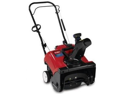 Picture of Recalled Snow Blower