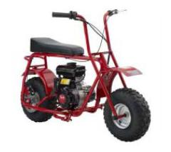 Picture of recalled Baja Motorsports Mini Bike