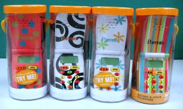 Picture of Recalled Toy Cell Phones