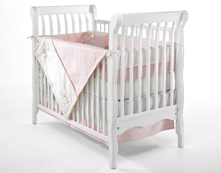 Picture of recalled crib having part number beginning with E3500C2