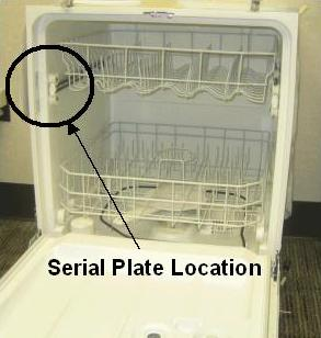 Picture of Serial Plate Location