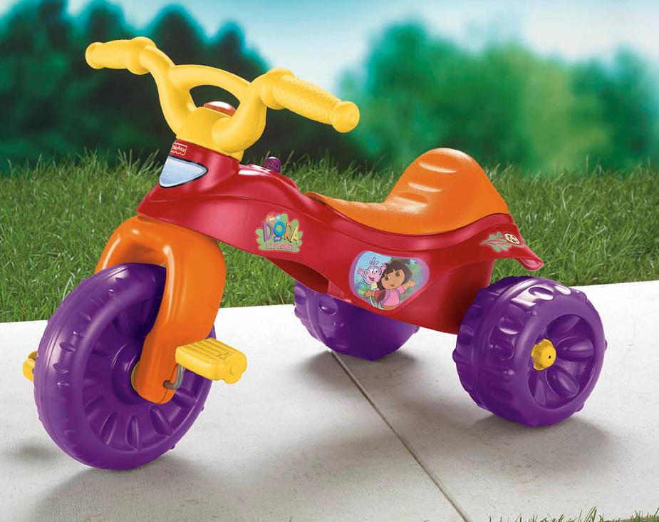 Recalled Dora the Explorer Tough Trike