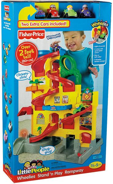 fisher price wheelies stand n play rampway recall