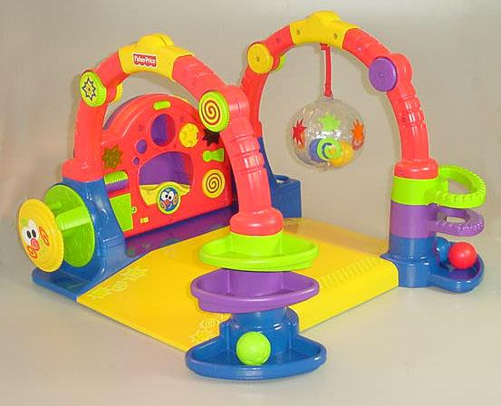 Baby Playzone Crawl & Slide Arcade