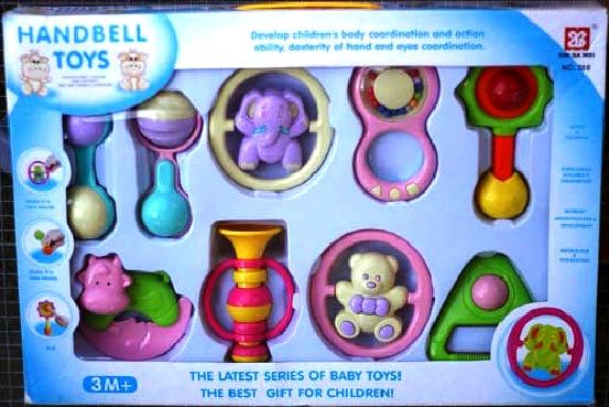 Picture of recalled rattles