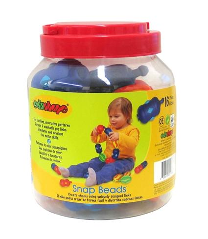 Picture of Recalled Snap Beads container
