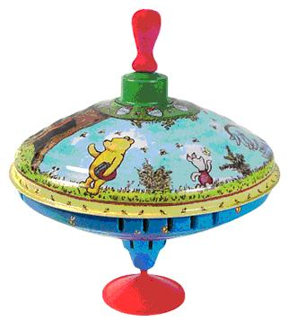 Picture of Recalled Winnie-the-Pooh Spinning Top