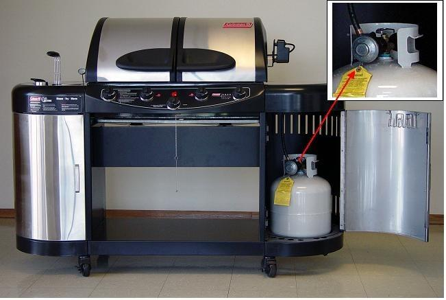 Picture of Recalled Gas Grill Model 5600