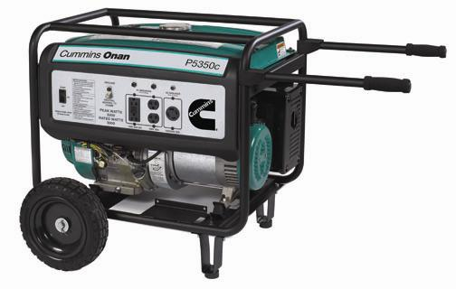 Picture of recalled generator P5350c