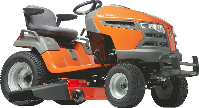 Recalled lawn tractor