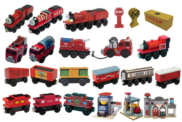 Picture of Recalled Thomas and Friends Wooden Railway Toys