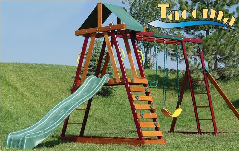 Picture of Recalled Tacoma Wooden Swing Sets