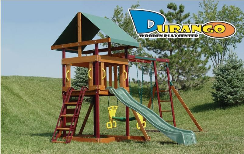 Picture of Recalled Durango Wooden Swing Sets