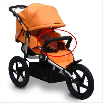 Picture of Recalled Tike Tech X3 Sport Jogging Stroller
