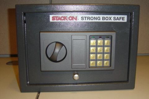 Picture of Recalled Stack-On Strong Box Safe