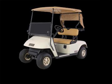 Picture of recalled E-Z-GO TXT Golf Car