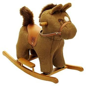 Picture of Small Rocking Horse Toy