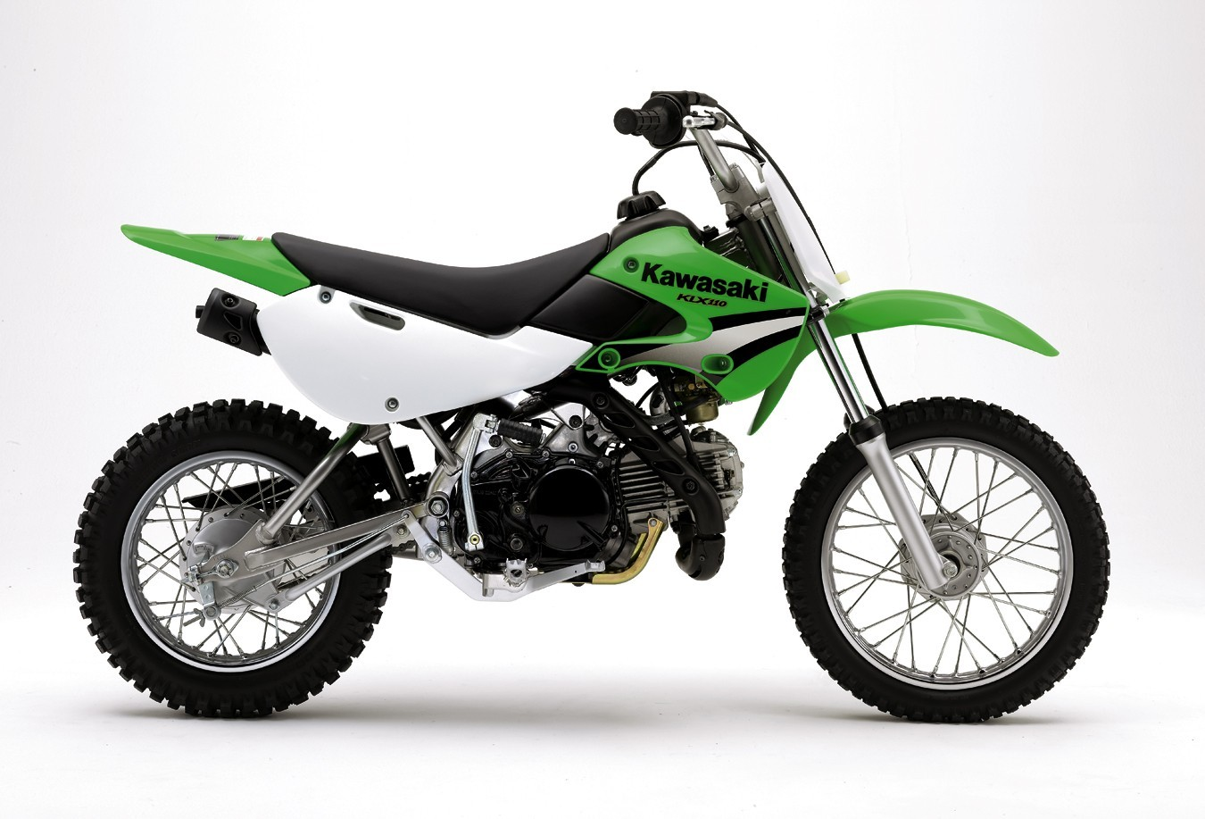 Picture of Recalled Kawasaki model KLX110-A4