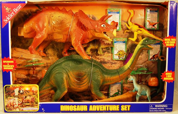 Picture of Recalled Soldier Bear Dinosaur Toy Set