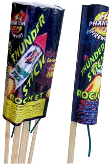 Picture of Recalled Rocket Fireworks