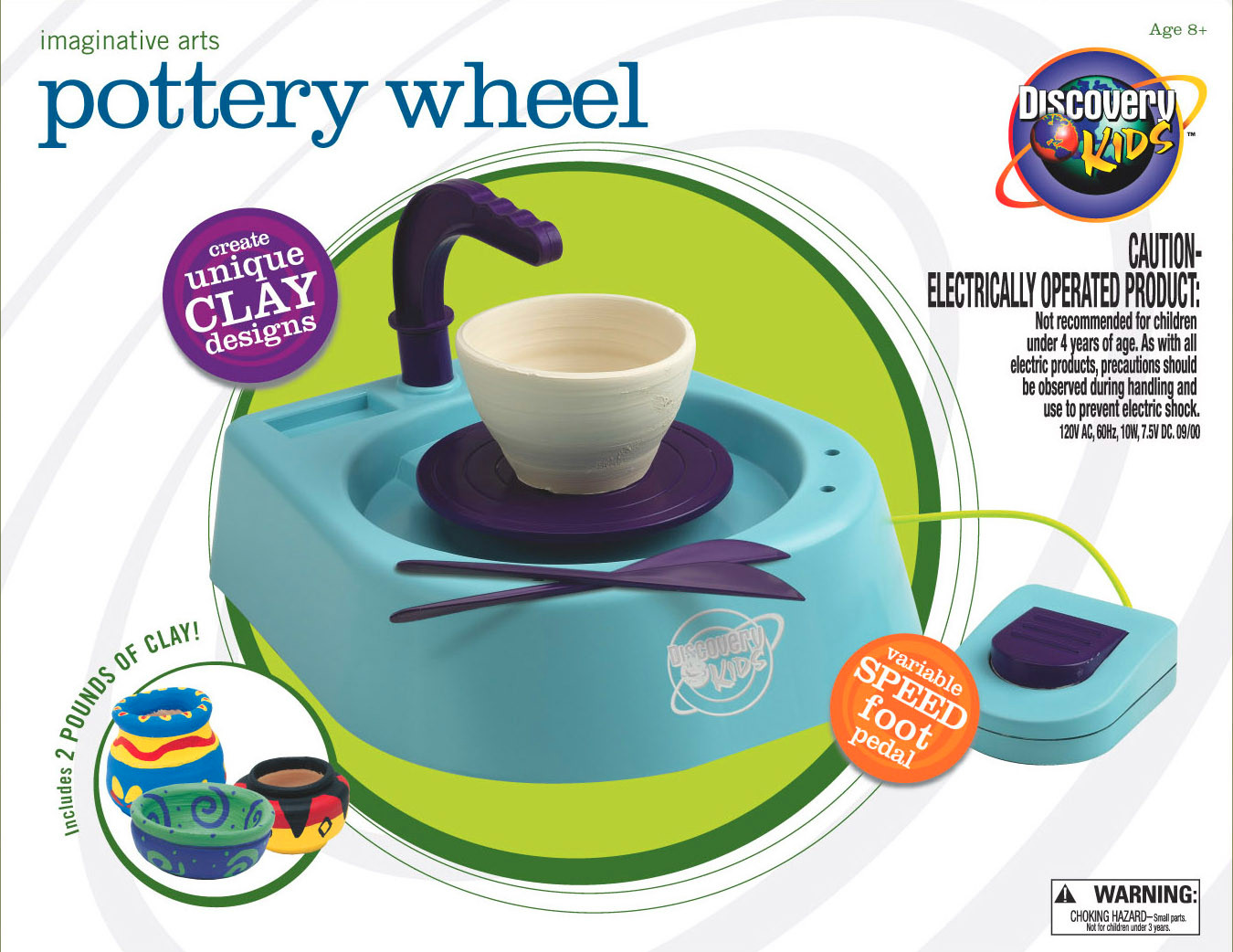 Picture of recalled Pottery Wheel Kit