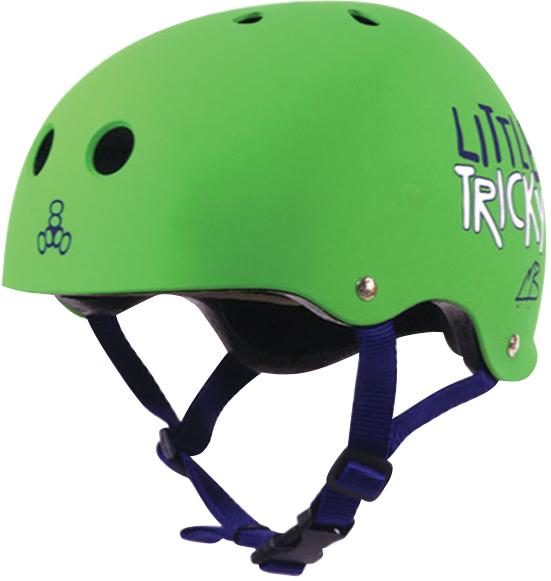 Picture of recalled green Little Tricky Helmet