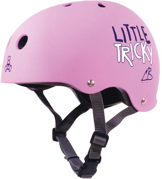 Picture of recalled pink Little Tricky Helmet