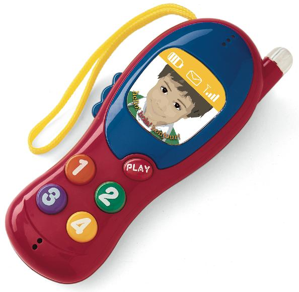 Picture of Recalled Toy Mobile Phone