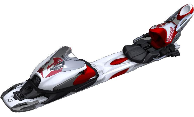 Picture of recalled Marker rMotion 12.0 D Ski Binding