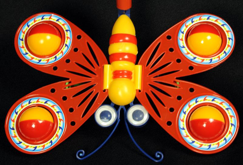 Picture of the butterfly part of recalled toy