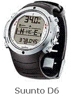 Picture of Recalled Dive Computer Model Suunto D6