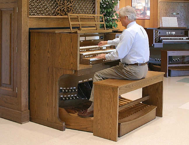picture of Allen Organ Bench