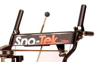 Picture of recalled snow blower handlebar plate