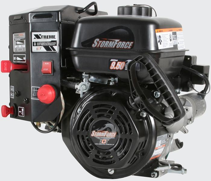 Picture of recalled snow blower StormForce engine