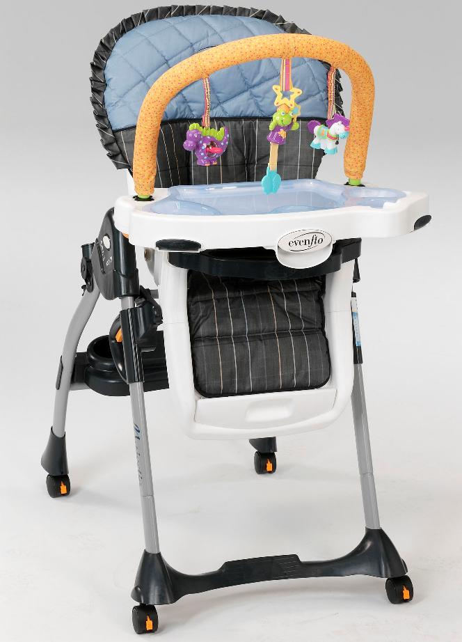 Evenflo Expands Recall of Majestic™ High Chairs Due to Fall and Choking Hazar