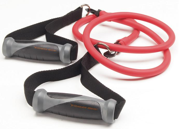 Picture of recalled Fitness Gear resistance tube kit