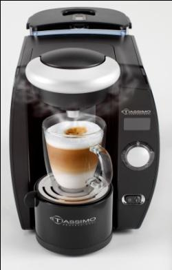 Picture of Recalled Coffee Maker Tassimo Professional
