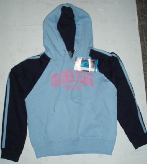 Picture of recalled hooded sweatshirt